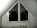 Dachgeschoss Kunststofffenster