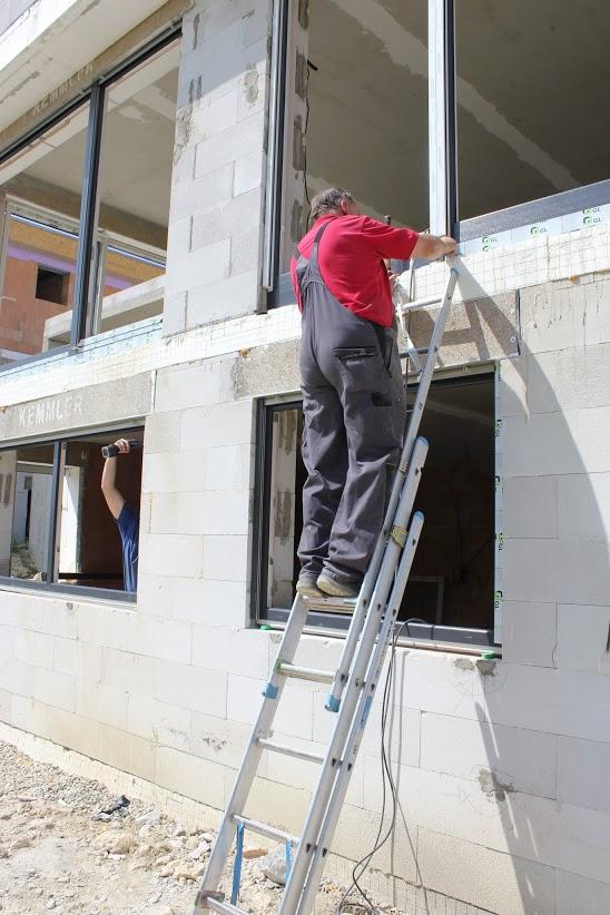 Fenstermontage, Kunststofffenster montieren Anleitung